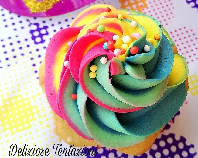 frosting multicolor