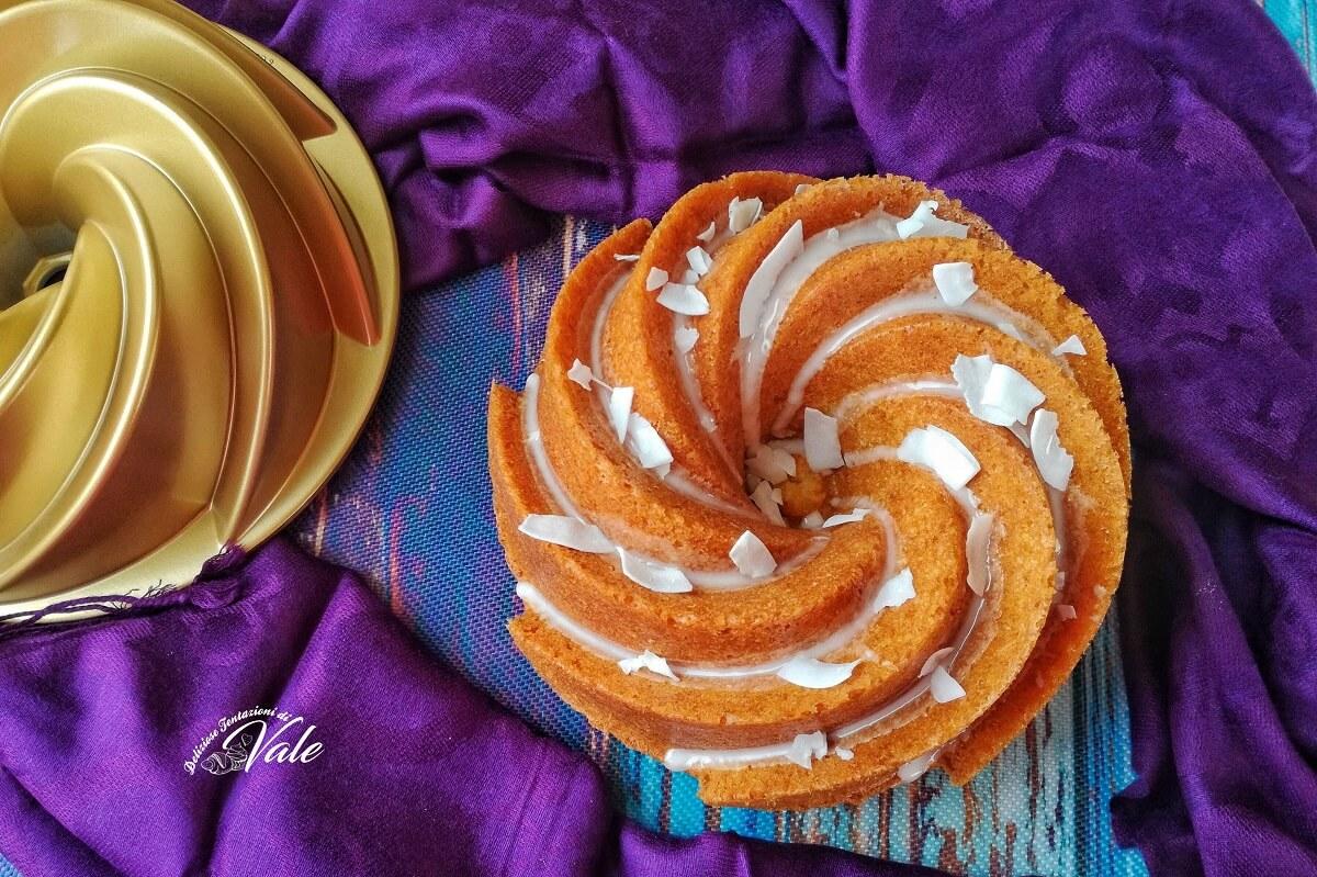 Ciambella Ananas e Cocco