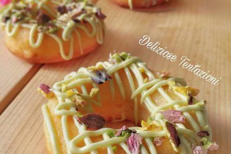 ciambelline pistacchio e limone