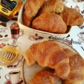 croissant integrali al miele