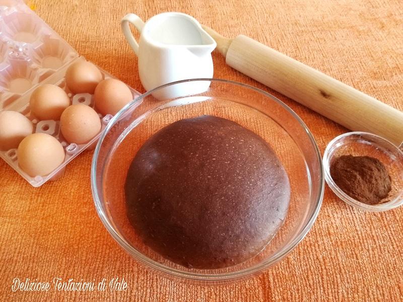 pasta brioche al cacao