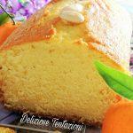 plumcake clementine e latte di mandorla