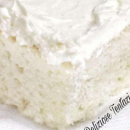 white craving cake