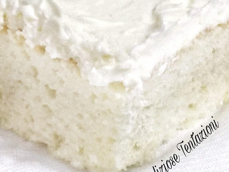 white craving cake