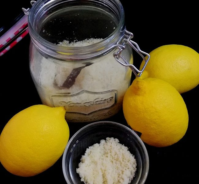 zucchero aromatizzato