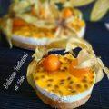 cheesecake mandorle e fruit passion