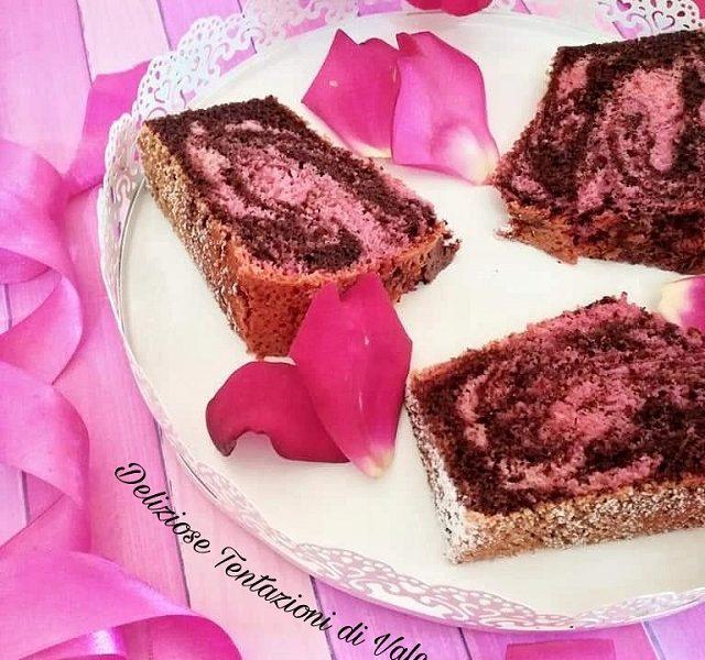 chiffon marmorizzata pink