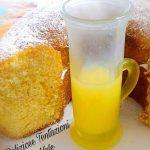 ciambella con crema al limoncello