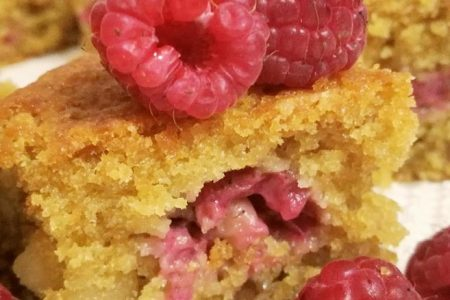torta crumble ai lamboni