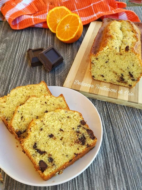 plumcake arance e cioccolato (2)