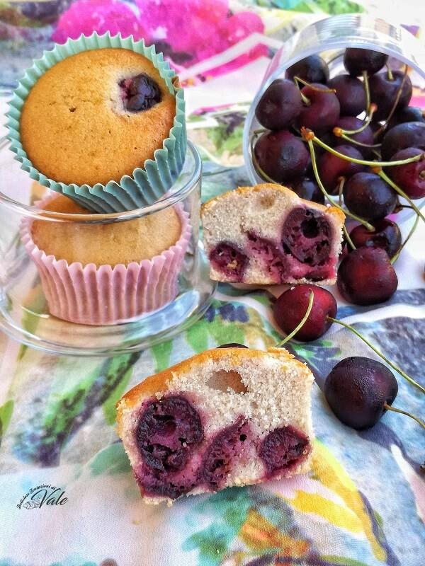 Muffin alle Ciliegie gluten free