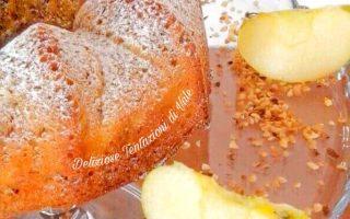 ciambella mele e nocciole
