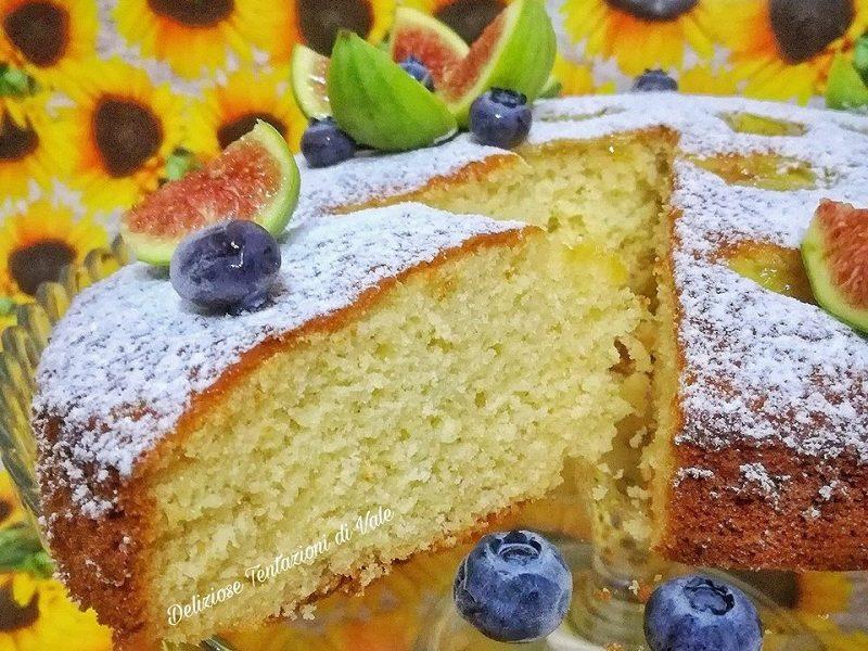 torta soffice ai fichi
