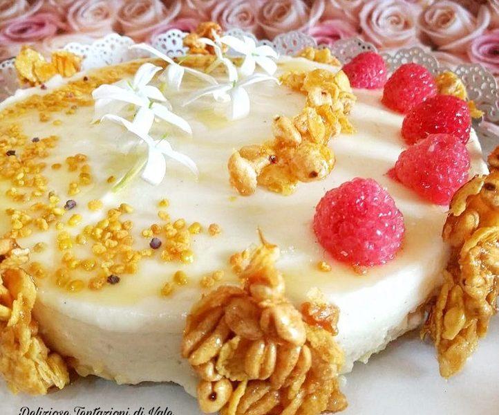 cheesecake al miele