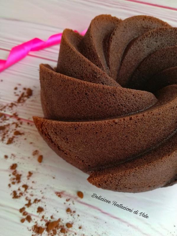 ciambella all'acqua al cacao