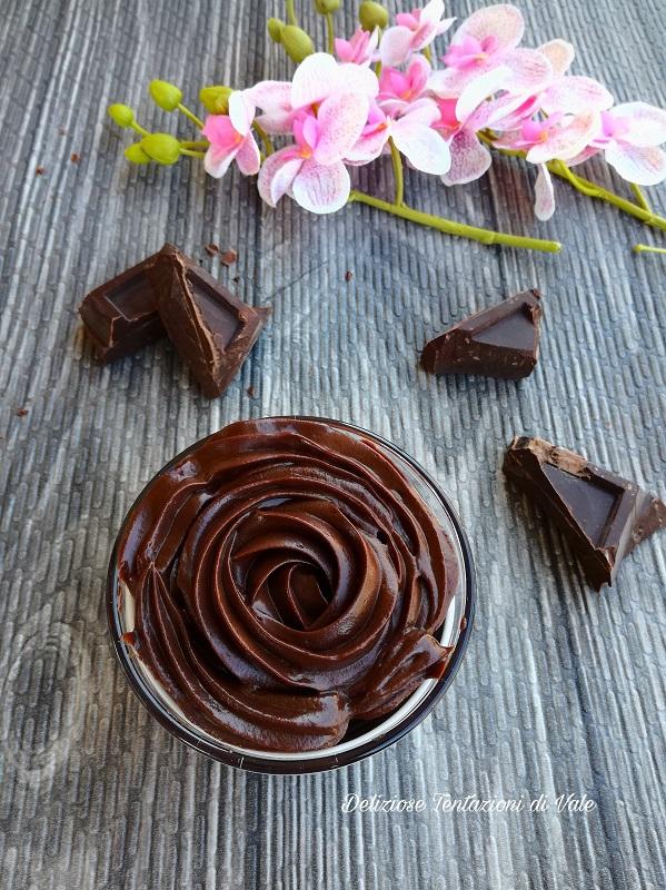 ganache al cioccolato fondente
