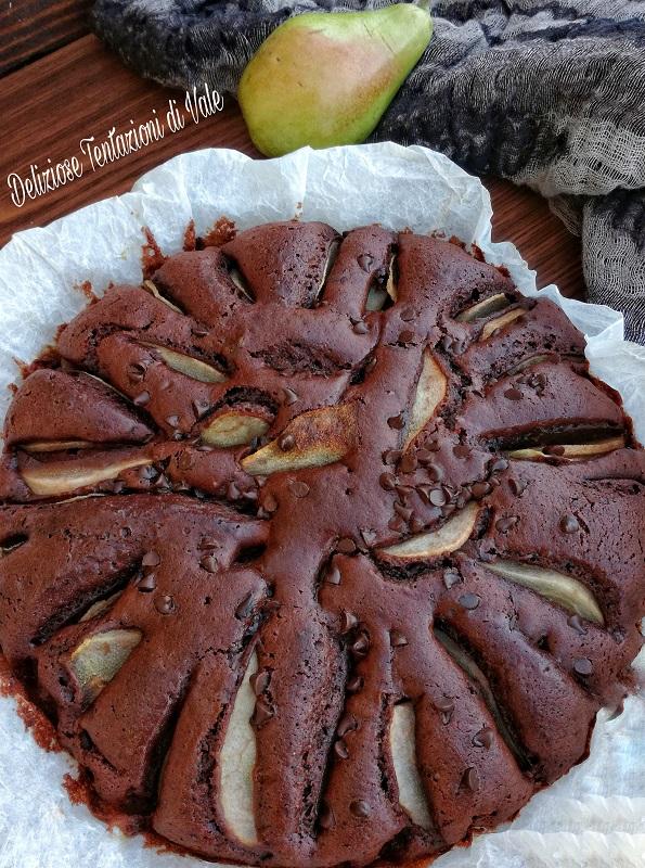torta soffice pere e cioccolato (3)