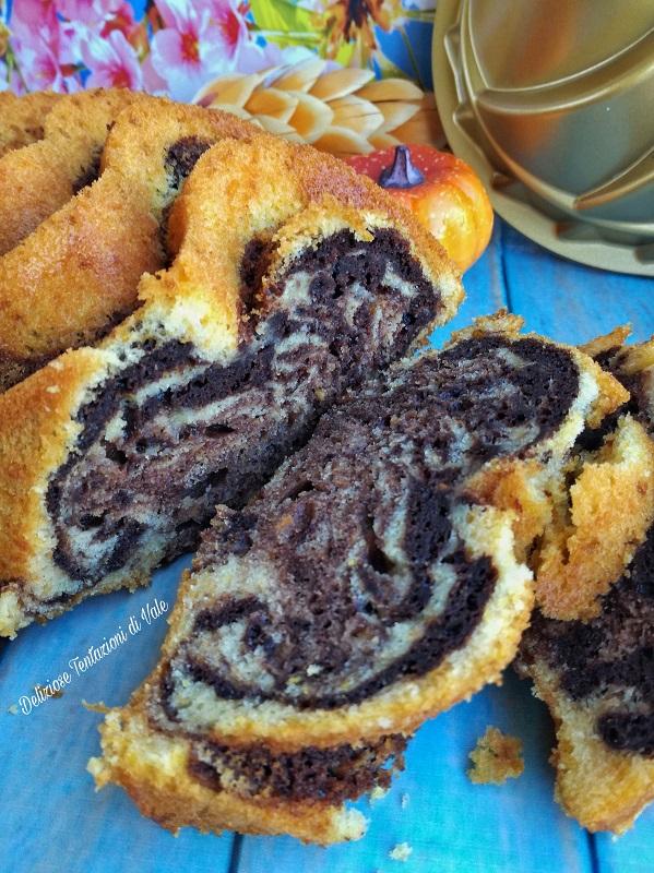 plumcake marmorizzato zucca e cacao (1)