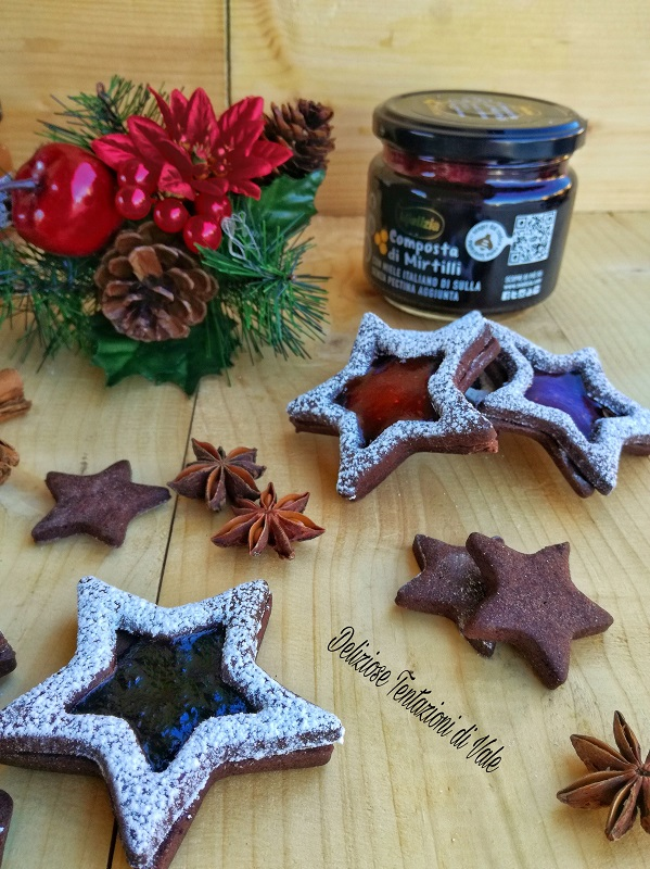 Occhi di Bue al Cioccolato e Composta di Frutta (3)