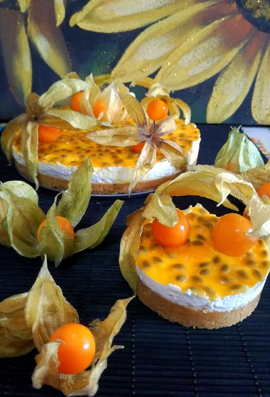 cheesecake mandorle e fruit passion (2)