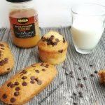 plumcake miele, robiola e gocce di cioccolata