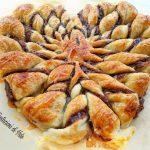 cuore di sfoglia e nutella