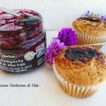 muffin con composta di mirtilli (2)