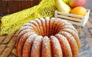 torta alla frutta frullata
