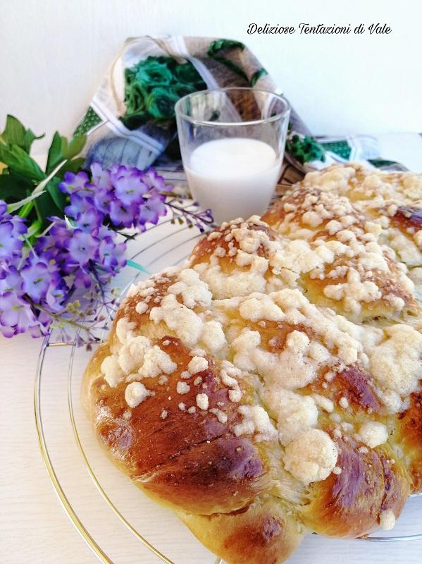 treccia di pan brioche golosa (3)