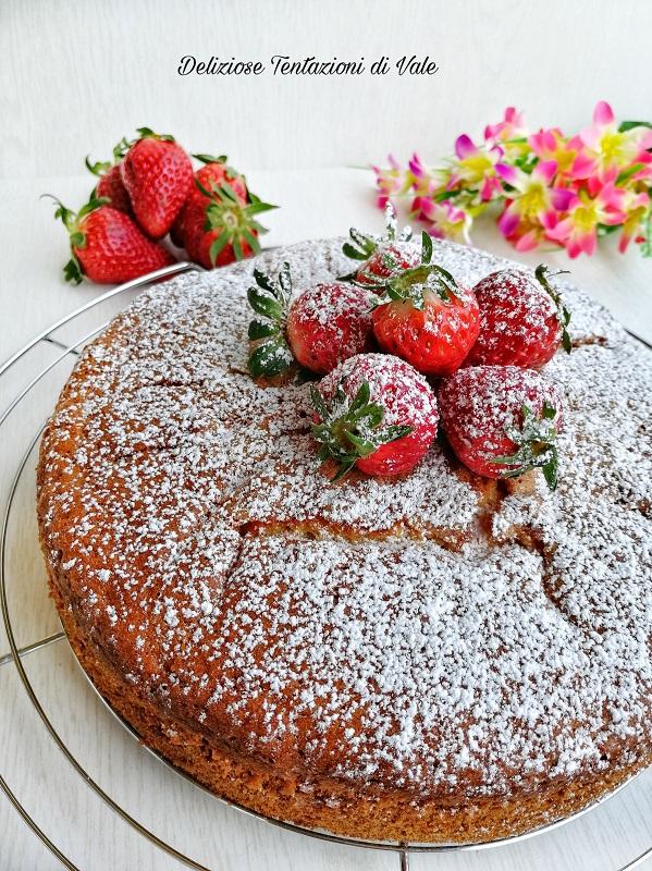 torta sofficissima con le fragole (1)