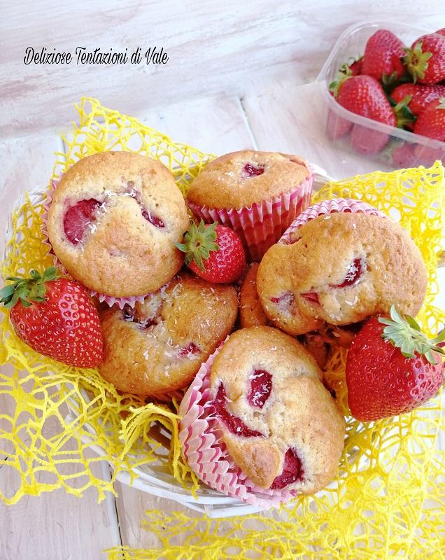 muffin cocco e fragole (2)