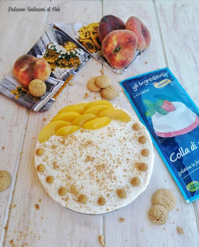 cheesecake pesche e amaretti (2)