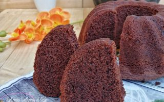 hot milk sponge cake al cacao