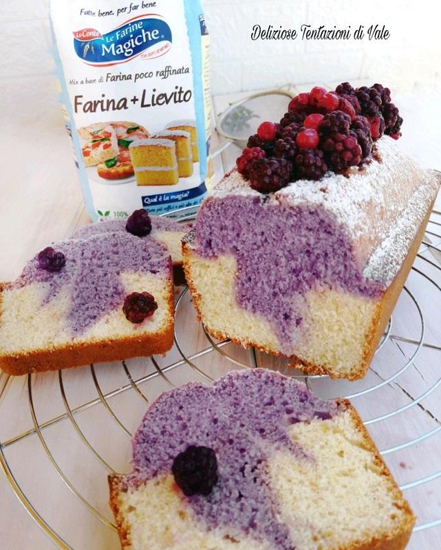 plumcake ai frutti di bosco (2)