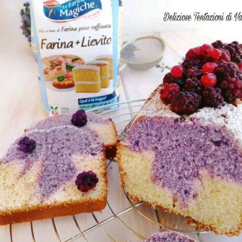 Ricetta Yogurt E Frutti Di Bosco.Plumcake Ai Frutti Di Bosco Senza Burro Ne Olio