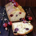 plumcake ciliegie e pistacchi (2)