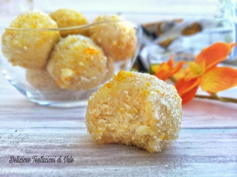 tartufi all'arancia