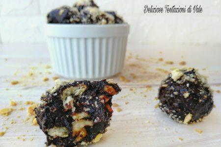 tartufi cioccolato e nocciole