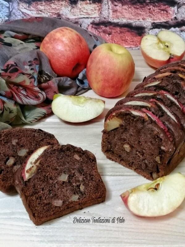 plumcake mele e cioccolato (2)