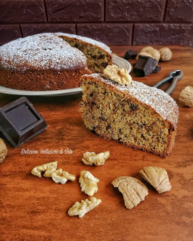 torta di noci con scaglie di cioccolato (2)