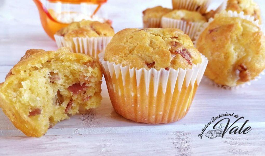 muffin provola e salame