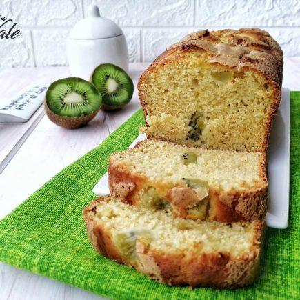 plumcake ricotta e kiwi