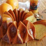 bundt cake alle arance con miele e cannella
