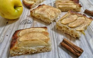 focaccia dolce mele e cannella