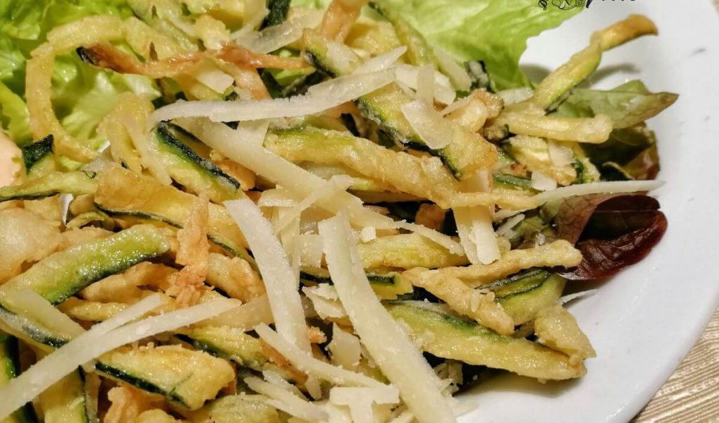 frittura calamari e zucchine