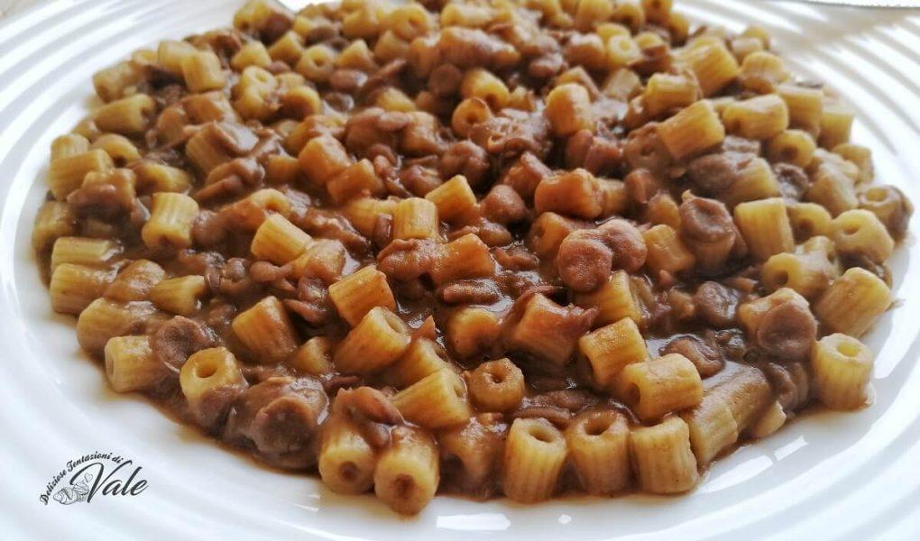 Ricetta Lenticchie Senza Pomodoro.Pasta E Lenticchie Cremosa Ricetta Leggera Senza Soffriggere