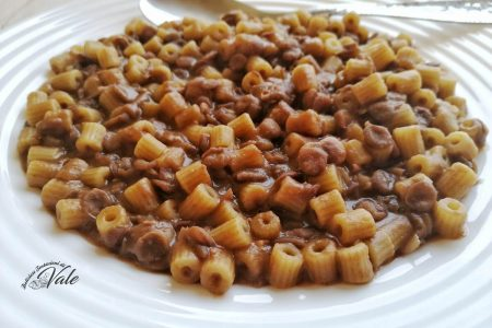 pasta e lenticchie cremosa