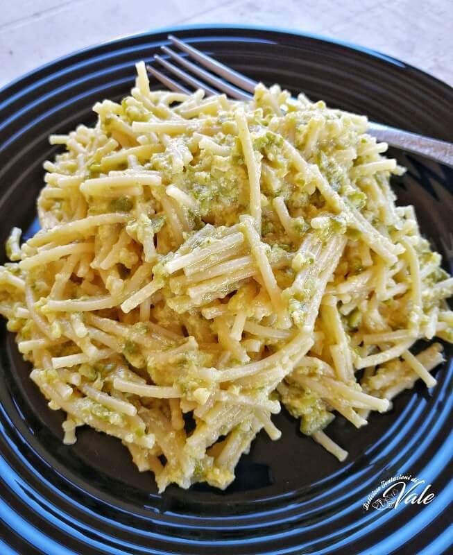 pasta e zucchine con uova (2)