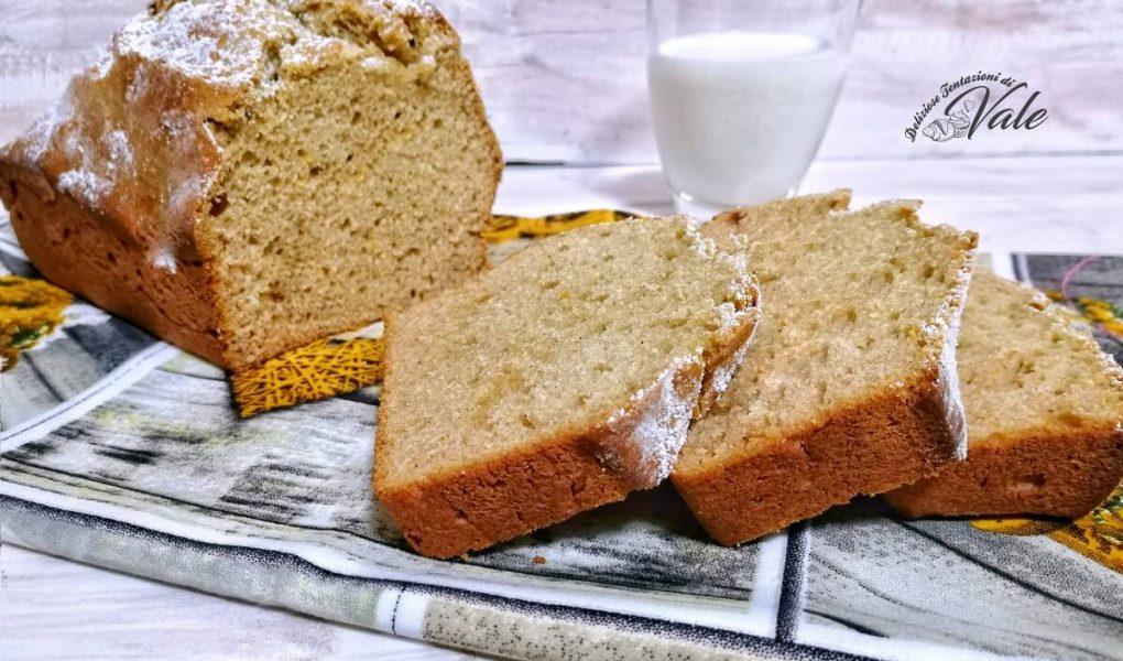 plumcake senza zucchero