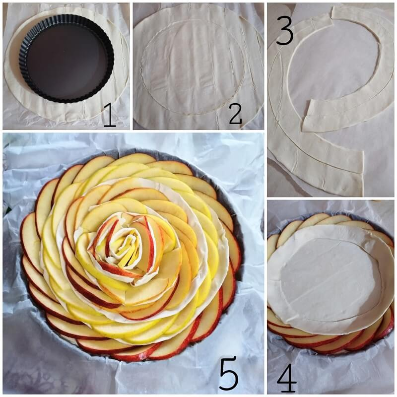 torta di mele e pasta sfoglia (3)